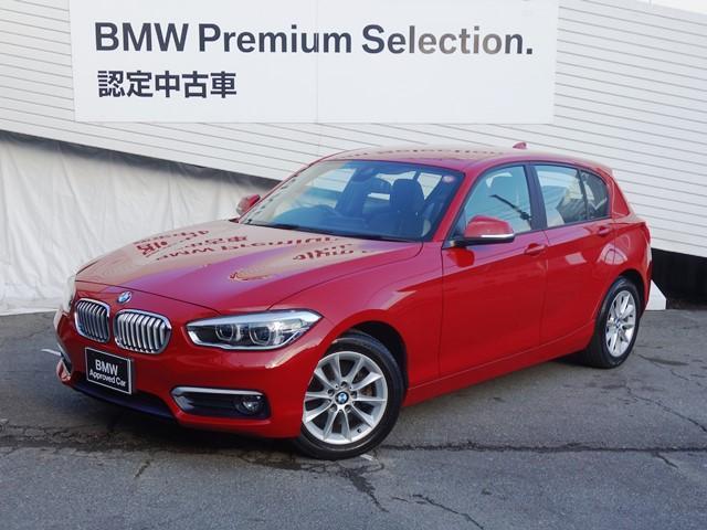 BMW 1シリーズ 118d スタイル 純正HDDナビ バックカメラ ハ-フレザ-シ-ト 衝突軽減ブレ-キ アイドリングストップ シートヒーター ミラ-型ETC LEDヘッドライト Buletoothオーディオ 認定保障