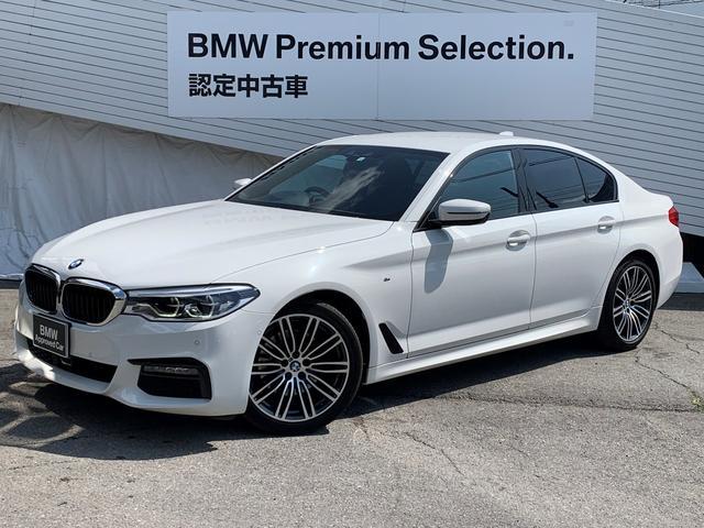 BMW 523d Mスポーツ 純正HDDナビ 全周囲カメラ ソナーセンサー 純正19インチAW 電動シート 電動テールゲート アクティブクルーズコントロール ヘッドアップディスプレイ LEDヘッドライト パドルシフト 認定保証