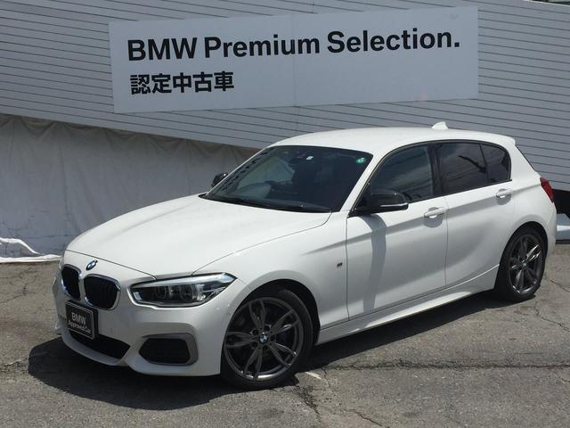 BMW 1シリーズ M140i アドバンスドPサポート コーラルレッドレザーシート シートヒーター LEDヘッドライト HDDナビ Bカメラ  衝突軽減ブレーキ Mブレーキ 純正アルミ