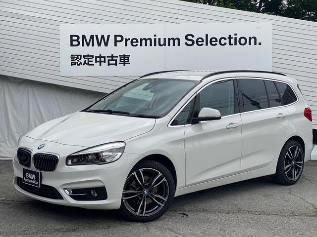 BMW 218dグランツアラー ラグジュアリー コンフォートパッケージ 地デジTV 社外リアモニター LEDヘッドライト ブラックレザーシート シートヒーター 電動リアゲート 電動フロントシート HDDナビ ルーフレール コンフォートアクセス