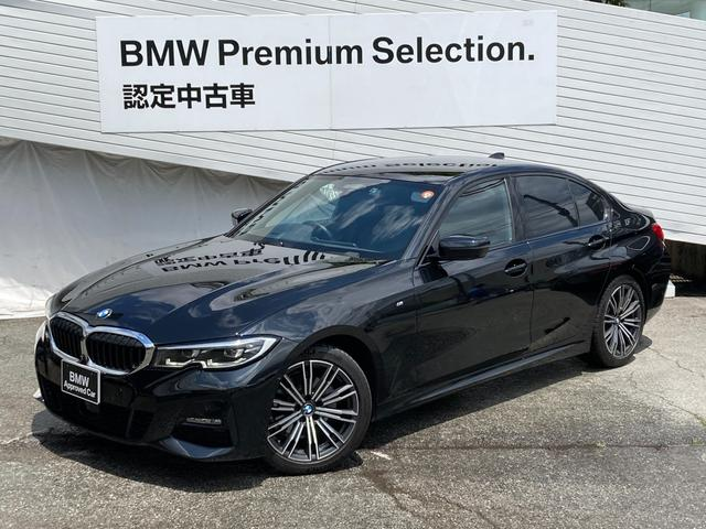 BMW 320i Mスポーツ ハイラインPKG コンフォートPKG ヘッドアップディスプレイ パーキングアシストプラス 黒レザーシート シートヒーター ランバーサポート レーンキープ LEDヘッドライト 電動トランクリッド G20