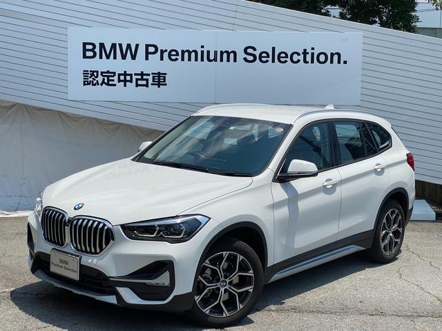 BMW X1 xDrive 18d xライン エディションジョイ+ アドバンスドアクティブセーフティPKG ハイラインPKG コンフォートPKG 黒革 弊社デモカー アクティブクルーズコントロール 電動シート シートヒーター 電動リアゲート HDDナビ Bカメラ