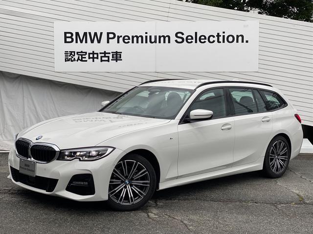 BMW 318iツーリング Mスポーツ 弊社元デモカー 360度カメラ 純正AI音声認識ナビ リバースアシスト アクティブクルーズ レーンキープ 電動トランクゲート 純正18インチアロイホイール LEDヘッドライト オートエアコン G21