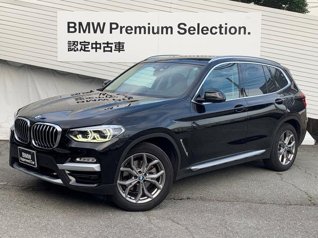 BMW X3 xDrive 20d Xライン ワンオーナー 純正18インチAW 黒レザーシート シートヒーター ヘッドアップディスプレイ アクティブクルーズコントロール 電動シート 電動テールゲート LEDヘッドライト ミラーETC 認定保証