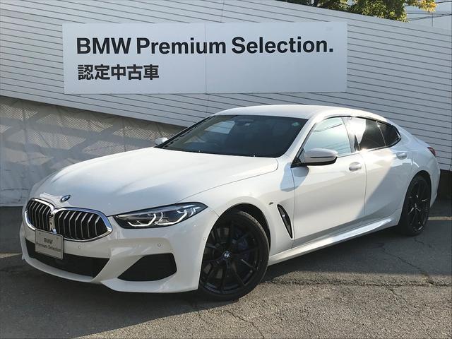 BMW 840i グランクーペ Mスポーツ オプション20インチAW 黒レザーシート レーザーライト ベンチレーションシート シートヒーティング HDDナビ地デジ ソフトクローズドア 電動トランク 全周囲カメラ ACC レーンキープアシスト
