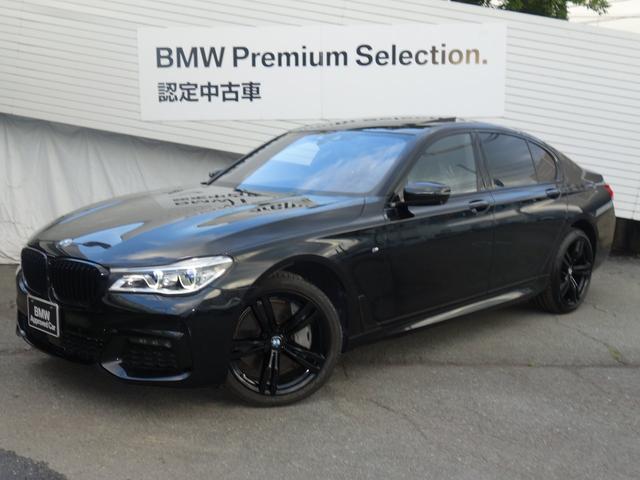 BMW 750i Mスポーツ コンフォートスポーツブラックレザー シートヒーター ベンチレーションシート パワーシート レーザービーム サンルーフ ヘッドアップディスプレー ハーマンカードン