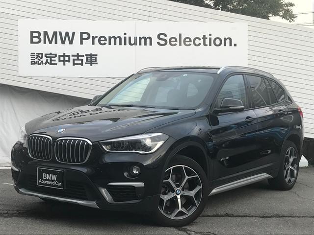 BMW X1 sDrive 18i xライン 弊社下取車 ブラックレザーシート シートヒーター 電動リアゲート LEDヘッドライト バックカメラ PDCセンサー ミラーETC 衝突軽減ブレーキ 歩行者警告 車線逸脱警告