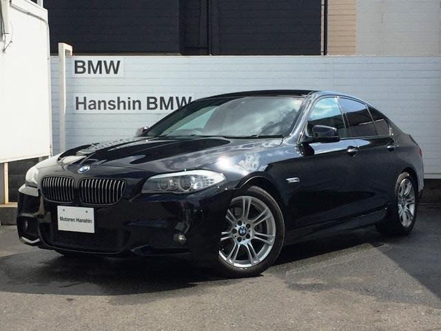 BMW 523iMスポーツパッケージブラックII純ナビキセノンPサポ