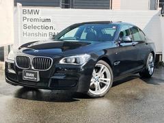 BMW740iMスポーツワンオーナプラスPKG黒レザーLEDライト