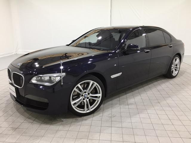 BMW 760LiMスポーツ認定保証V12EGリアエンター1オーナー
