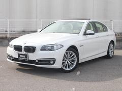 BMW523iラグジュアリー認定保証後期Lciサンルーフベージュ革
