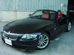 BMW Z4ロードスター3.0si赤レザーキセノンライトシートヒーター