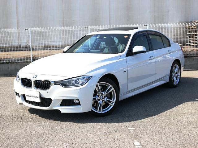 BMW アクティブハイブリッド3Mスポーツ黒レザHDDワンオナSR