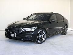 BMW750i Mスポーツ認定保証V8ターボワンオーナーサンルーフ
