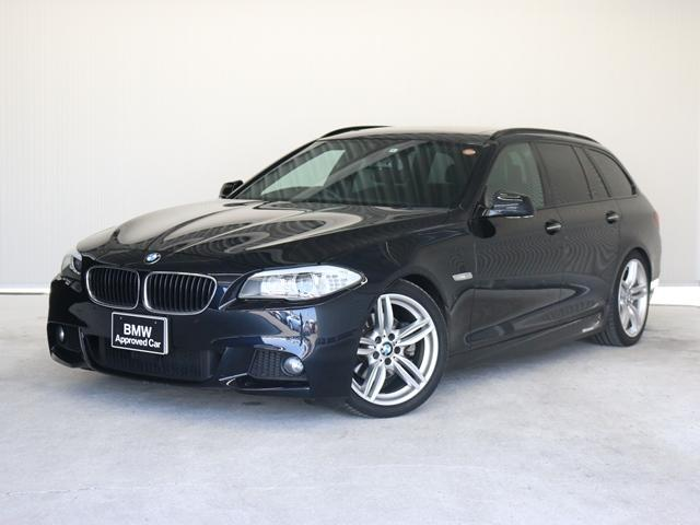BMW 523iツーリング Mスポーツパッケージ認定保証・黒革F11