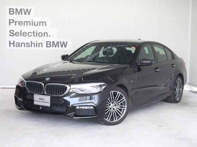 BMW 523d Mスポーツ ハイラインパッケージ黒革デビューPKG