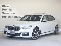 BMW740dxDrive MスポーツレザーLED黒革SR20AW
