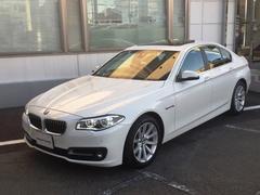BMW523iイノベーター限定車サンルーフ茶革LEDヘッド1オーナ