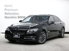 BMW750i認定保証コンフォートPKGサンルーフACCLED茶革