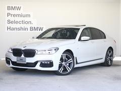 BMW740dxDriveMスポーツ黒革SR20AWレーザーライト