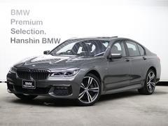 BMW750i Mスポーツ茶レザー20AWレーザーライト地デジTV