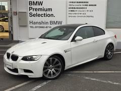 BMWM3クーペ黒レザー左H6速MT19インチAWカーボンルーフ