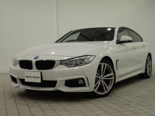 BMW 430iグランクーペMスポーツ認定保証252PS1オナACC