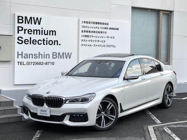 BMW 740LiMスポーツ認定保証ロングボディレザーライトSR黒革