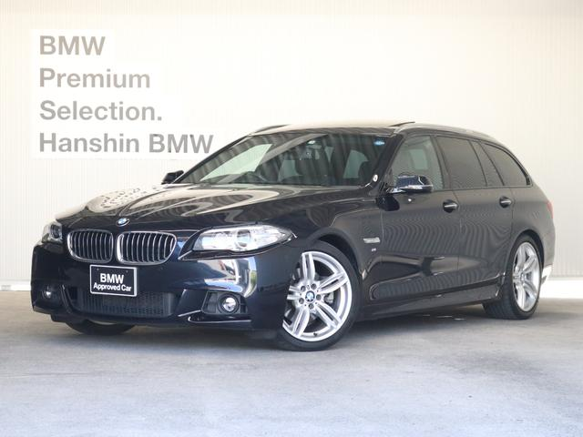 BMW 523iツーリング Mスポーツ認定保証SR19AWHDDナビ