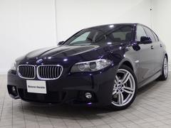 BMW523d Mスポーツ黒レザーOP19AWシートヒーターBカメ