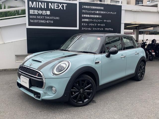 MINI 元デモカー限定車・6MT・Dアシスト・ACC