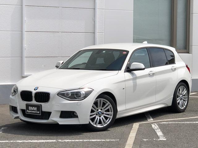 BMW 120i Mスポーツ認定保証純正ナビ地デジ電動シートBカメラ