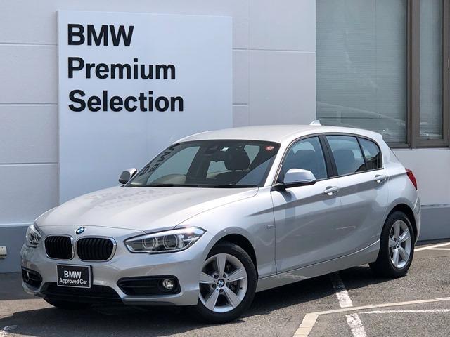 BMW 118i スポーツ ・純正HDDナビ・LEDヘッドライト・バックカメラ・リアPDCセンサー・ミラーETC・純正アルミ・SOSコール・衝突軽減ブレーキ・レーンディパーチャーウォーニング・クルーズコントロール・F20