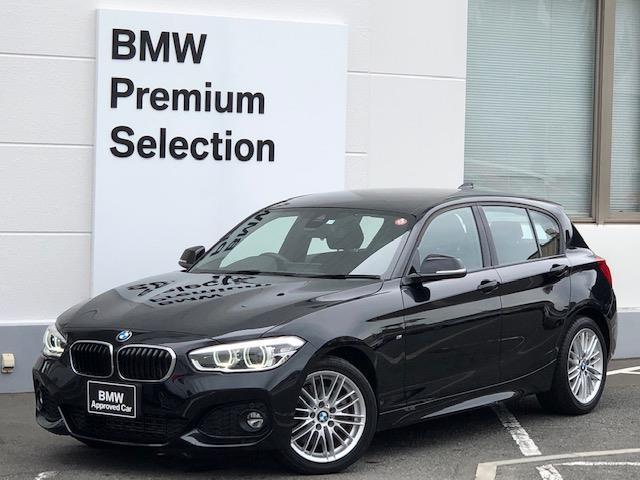 BMW 118d Mスポーツ 純正HDDナビ・バックカメラ・全周囲カメラ・PDCセンサー・ブレーキ軽減システム・レーンディパチャーウォーニング・SOSコール・コネクティッドドライブ・コンフォートアクセス・シートヒーター・純17AW
