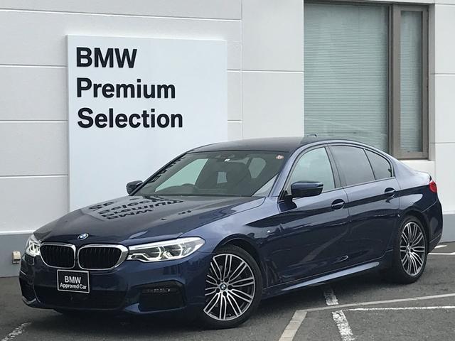 BMW 523d Mスポーツ ブラックレザー・シートヒーター・パワーシート・ヘッドアップディスプレイ・アクティブクルーズコントロール・地デジ・電動トランク・LEDヘッドライト・コンフォートアクセス・純正HDDナビ・純正ホイルG30