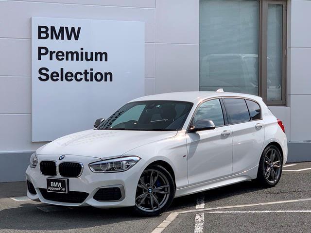 BMW 1シリーズ M140i 直6ターボエンジン・パーキングサポート・ミラーETC・LEDヘッドライト・電動シート・純正HDDナビ・Mブレーキ・Mパフォーマンスモデル・衝突軽減ブレーキ・レーンディパーチャーウォーニング・F20・