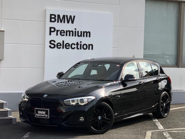 BMW 118d Mスポーツ エディションシャドー ・純正HDDナビ・全周囲PDCセンサー・アクティブクルーズコントロール・LEDヘッドライト・バックカメラ・ミラー内蔵ETC・ワンオーナー・タッチパネルナビ・純正AW・ブレーキ軽減・レーンディパチャーW