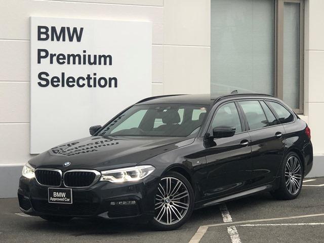 BMW 523iツーリング Mスポーツ ・認定保証・ワンオーナー・ヘッドアップディスプレイ・ACC・全周囲カメラ・フルセグTV・LEDライト・レーンキープ・衝突軽減B・ミラーETC・レーンディパーチャーウォーニング・純正HDDナビ・G31