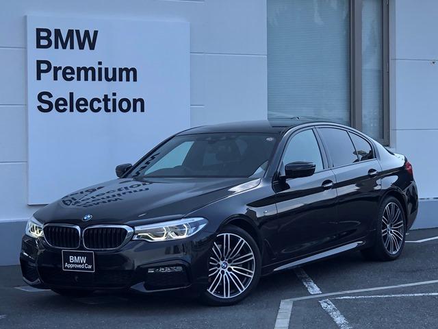 BMW 523d Mスポーツ ハイラインパッケージ ・認定保証・黒レザーシート・シートヒーター・レーンキープ・ACC・LEDライト・電動リアゲート・全周囲カメラ・フルセグTV・衝突軽減ブレーキ・レーンディパーチャー・パドルシフト・ミラーETC・G30