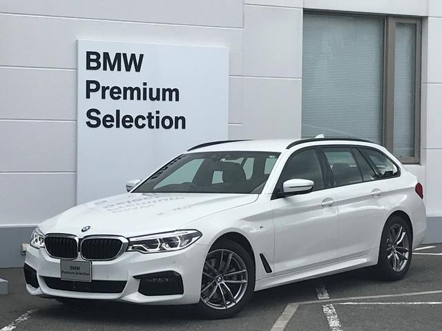 BMW 523d xDriveツーリング Mスピリット 弊社デモカー・ブラックレザー・前後シートヒーター・全周囲カメラ・PDCセンサー・パワーシート・パワートランク・地デジ・レーンチェンジW・アクティブクルーズコントロール・純正HDDナビ・純正AW・G30