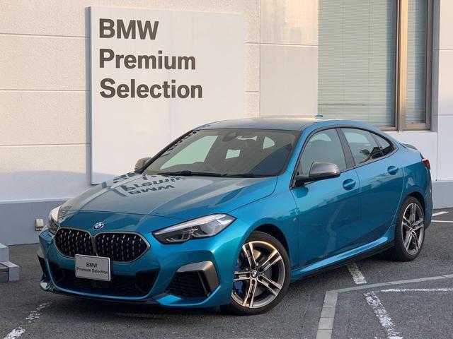 BMW M235i xDriveグランクーペ ・純正HDDナビ・ミュージックサーバー・アクティブクルーズコントロール・LEDヘッドライト・衝突軽減ブレーキ・純正18インチアルミホイール・USB端子・レーンキープ・ミラーETC・フォグランプ・F22