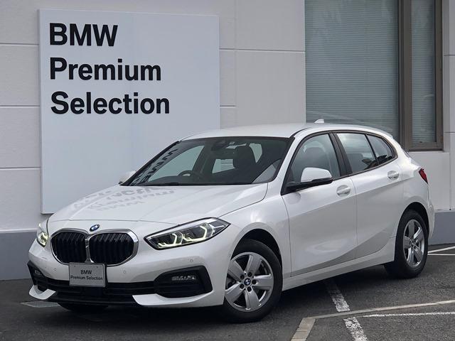 BMW 118d プレイ エディションジョイ+ ・認定保証・ナビパッケージ・ワンオーナー・後退アシスト・ドライビングアシスト・LEDライト・バックカメラ・運転席電動シート・ワイヤレス充電・PDCセンサー・衝突軽減ブレーキ・ミラーETC・F40