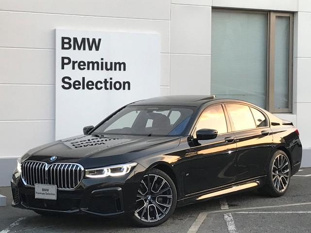 BMW 740i Mスポーツ サンルーフ・ハーマンカードンスピーカー・コニャックレザー・前後シートヒーター・Wエアコン・ソフトクローズドア・純正20インチAW・シートエアコン・マッサージシート・地デジ・トップビュー・PDCセンサー