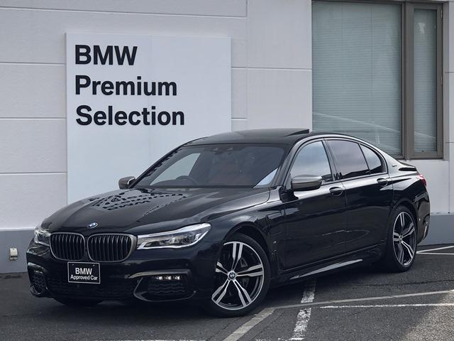 BMW 740eアイパフォーマンス Mスポーツ 認定保証・レーザーライト・ハーマンカードン・コニャックレザー・サンルーフ・ヘッドアップD・ジェスチャーコントロール・ACC・セリウムグレーミラーキャップ・ベンチレーションシート・全周囲カメラ・G11