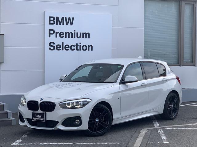 BMW 118d Mスポーツ エディションシャドー 限定車・ブラックキドニーグリル・専用ブラック18インチAW・コニャックレザー・フロントシートヒーター・LEDヘッドライト・純正HDDナビ・ACC・衝突軽減ブレーキ・コンフォートアクセス・ミラーETC・
