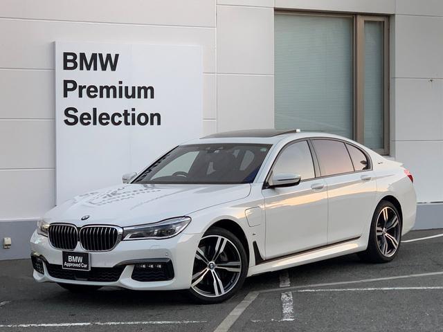 BMW 740eアイパフォーマンス Mスポーツ 地上デジタルTV・純正HDDナビ・ベンチレーションシート・マッサージシート・ミラー内臓ETC・レーザーヘッドライト・シートヒーター・電動ガラスサンルーフ・ACC・パドルシフト・G11