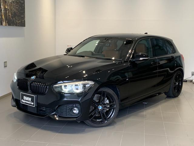 BMW 1シリーズ 118d Mスポーツ エディションシャドー 1オーナー・コニャックレザー・シートヒーター・アクティブクルーズコントロール・バックカメラ・純正HDDナビ・コンフォートアクセス・衝突回避ブレーキ・車線逸脱警告・LEDヘッドライト・リアPDC・F20