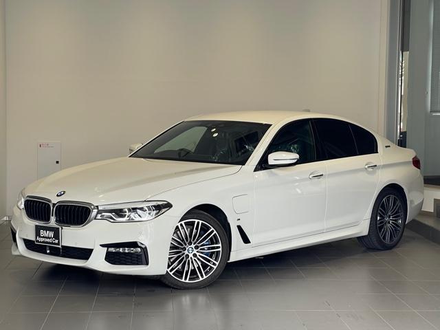 BMW 530e Mスポーツアイパフォーマンス ・地デジ・バックカメラ・全周囲カメラ・PDCセンサー・ブレーキ軽減・LEDヘッドライト・オートトランク・ブラックレザー・シートヒーター・SOSコール・アクティブクルーズコントロール・レーンキープG30