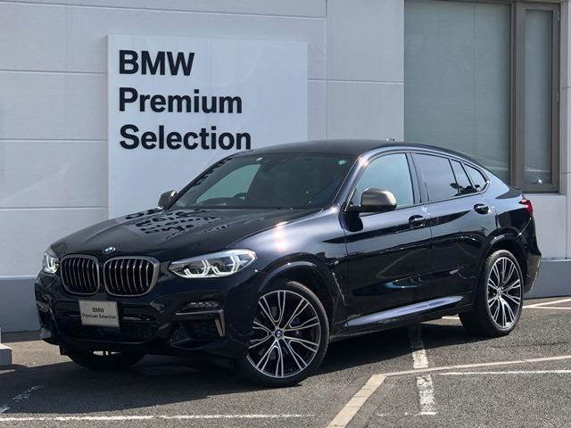 BMW X4 M40i ・ライブコックピット・純正21インチアルミ・アクティブベンチレーションシート・モカレザー・社外リアモニター・アクティブクルーズコントロール・レーンチェンジ・全周囲カメラ・セリウムグレーグリル&ミラー・