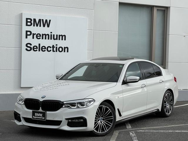 BMW 523d Mスポーツ ハイラインパッケージ ・ブラックレザー・全席シートヒーター・ジェスチャーコントロール・オートトランク・サンルーフ・全周囲カメラ・ワンオーナー・アクティブクルーズコントロール・LEDヘッドライト・地デジ・バックカメラ・SOS